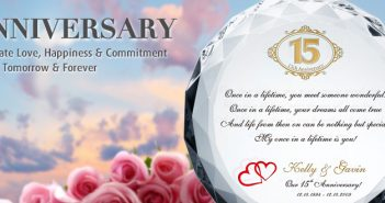 wedding anniversaries gifts