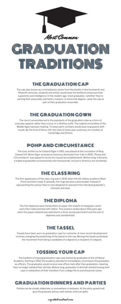 Most Common Graduation Traditions