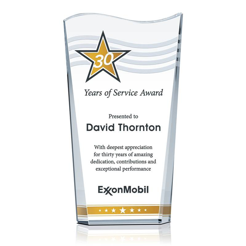 Wave Service Recognition Award