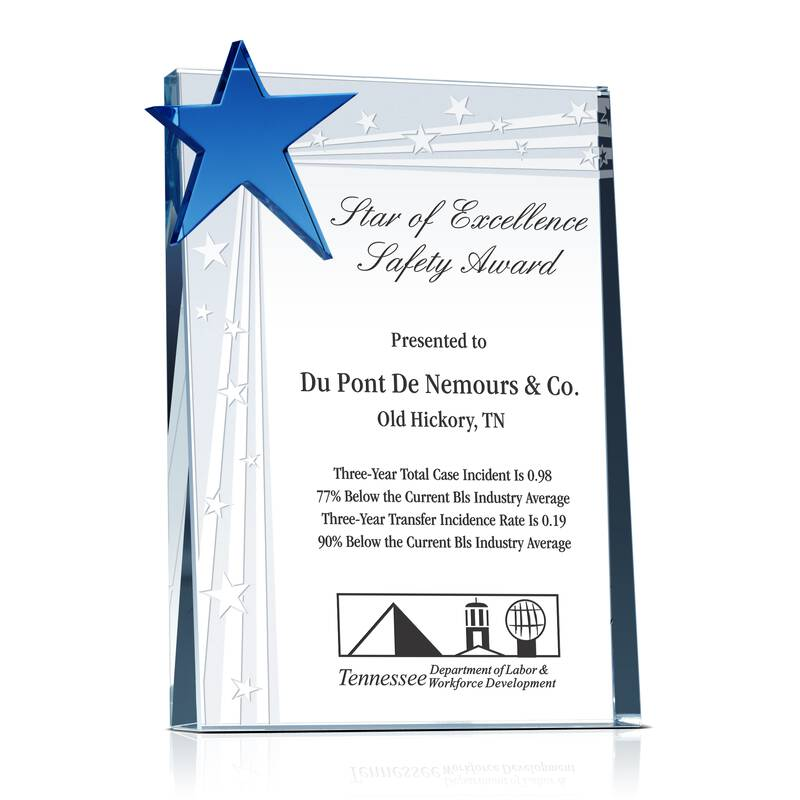 Star of Excellence Safety Award