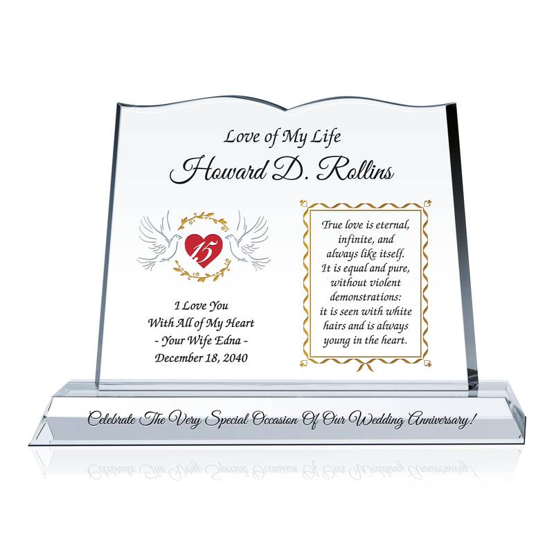 Personalized Anniversary Gift for Him