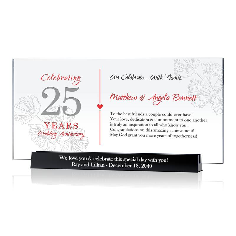 Silver Wedding Anniversary Gift Ideas For Parents: Silver Wedding Anniversary Gift For Parents