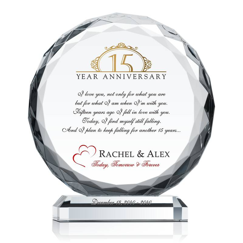 Love Anniversary Gift For Wife Wording Sample By Crystal