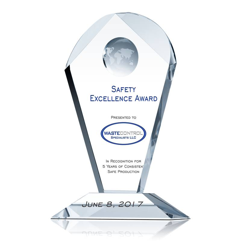 Safety Excellence Recognition Award Wording Sample By
