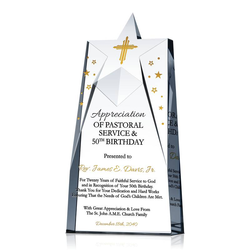 Pastor Appreciation Amp Birthday Recognition Gift Wording