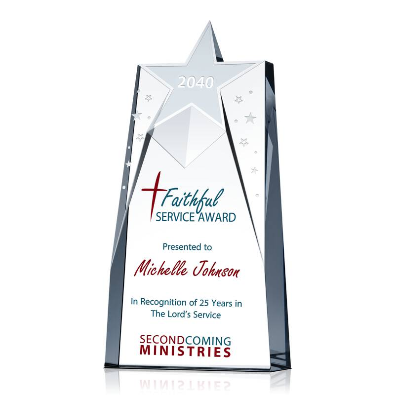 Christian Pastor Award Plaque Wording Sample By Crystal