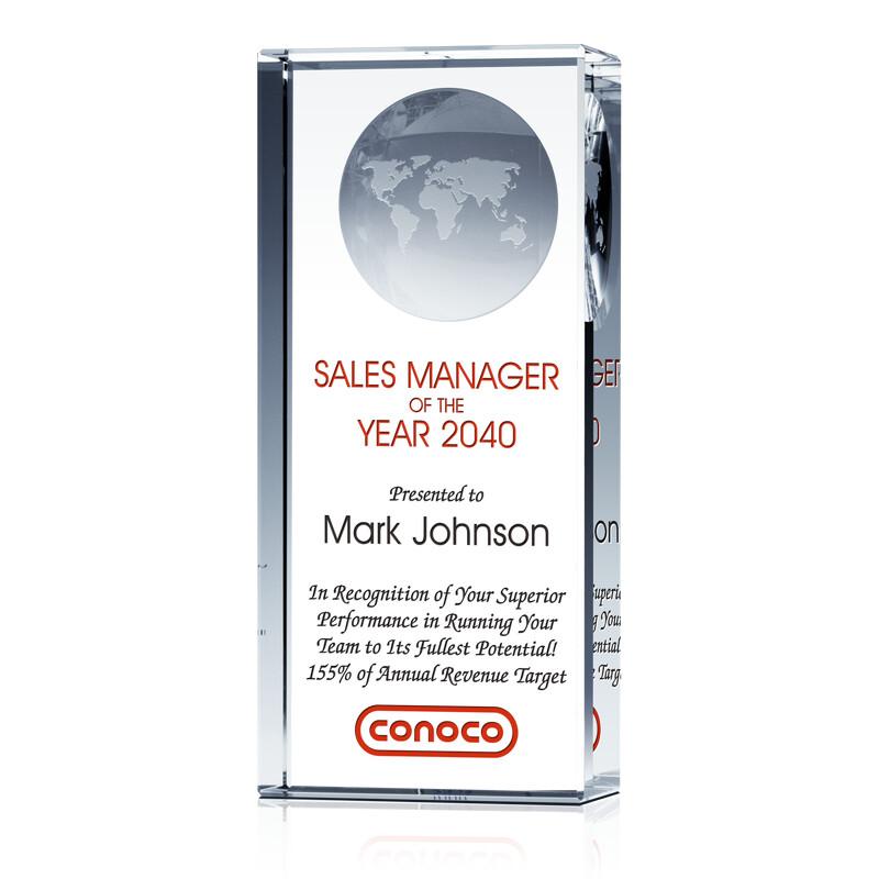 Best Sales: Top Sales Manager Award Pillar