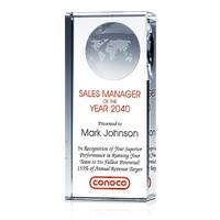 Top Sales Manager Award Pillar