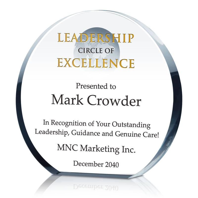 Leadership Circle Of Excellence Award  Excellence Award Wording