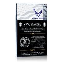 American Flag - Airman Poem Retirement Gift