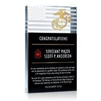 Marines Promotion Achievement Gift