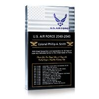 US Air Force Service Retirement Gift