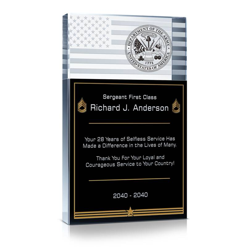 Army Service Recognition Wording 1 Wording Sample By