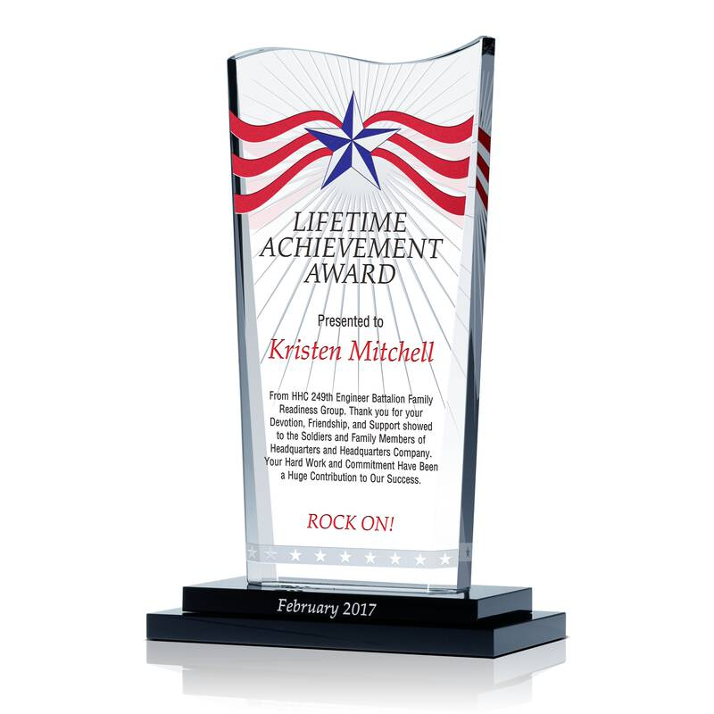 Army Lifetime Achievement Award