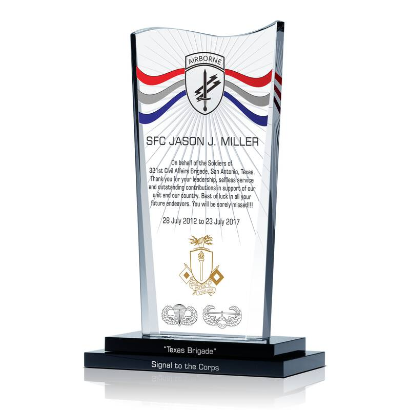 Army Soldier Recognition Award