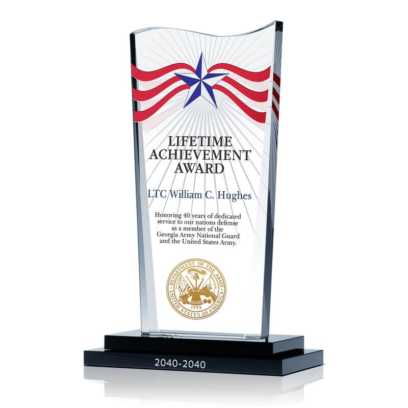 Military Lifetime Achievement Award Wording Sample By