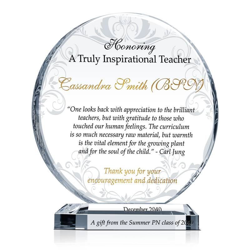 Gift to Honor an Inspirational Teacher
