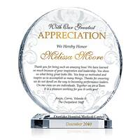 Best Supervisor Recognition Award Wording Sample By