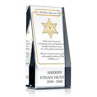 Religious Retirement Award for Sheriff