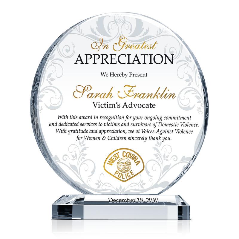 victim u2019s advocate appreciation gift