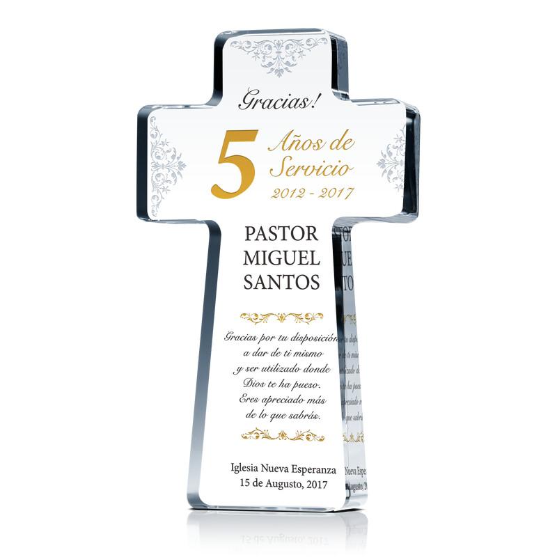 Placaregalo De Reconocimiento Del Aniversario Pastoral Wording