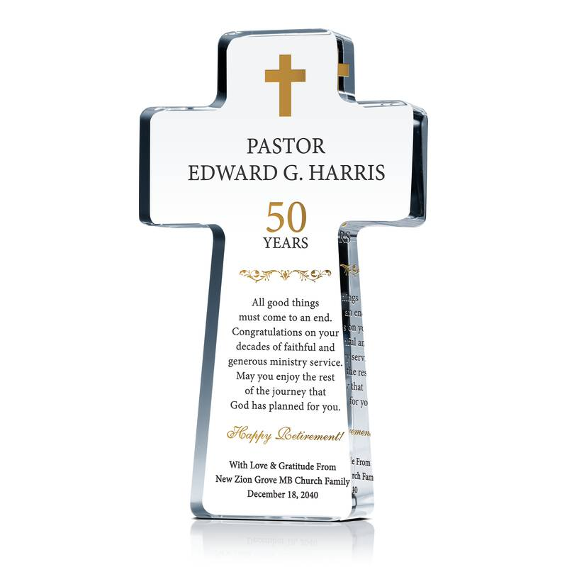 Happy Retirement Pastor Sample Wordings Wording Sample