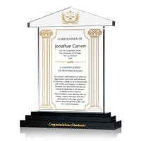 Graduation Gift Plaque with Lawyer's Creed