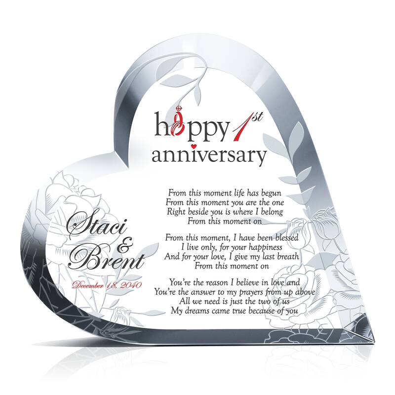 Hy 1st Wedding Anniversary Poem
