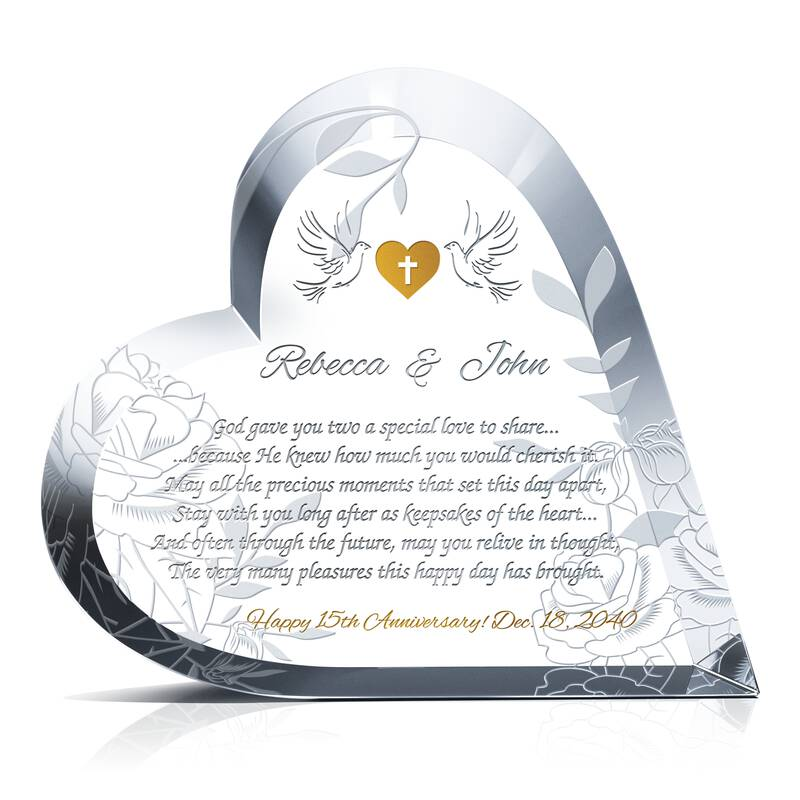 Crystal Gifts For 15th Wedding Anniversary Best Anniversary Gifts By