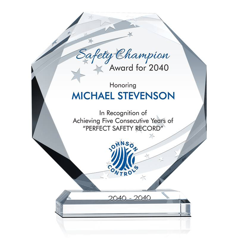 Safety Champion Award For 2013 Wording Sample By Crystal