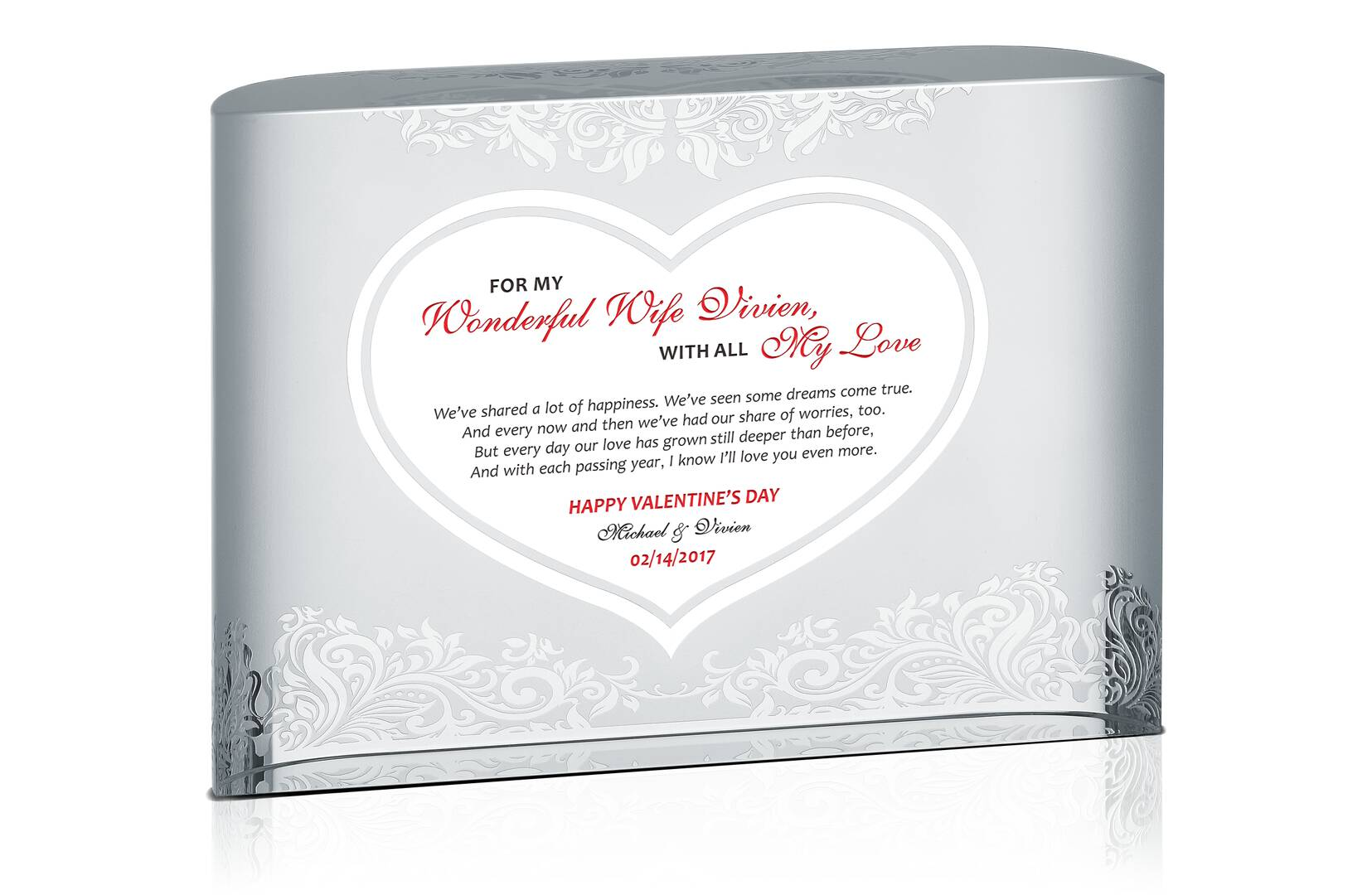 All My Love Valentine Gift - Crystal Central