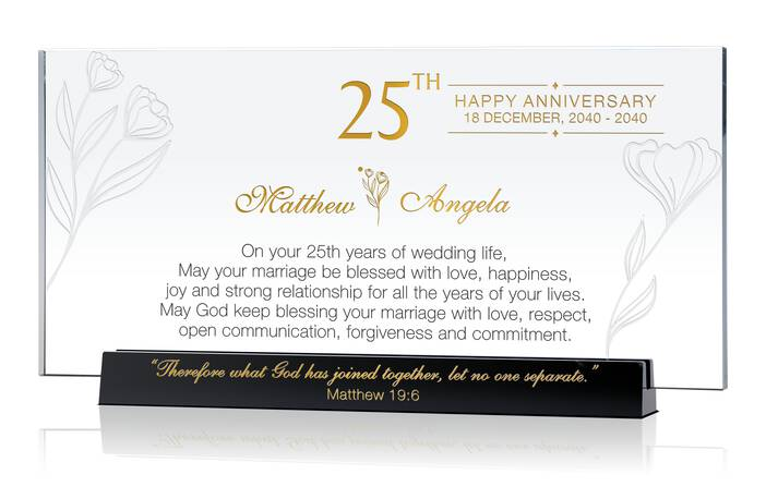 Romantic Silver Wedding Anniversary Message to Wife
