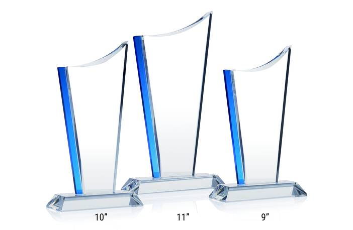 Crystal Drive Award Plaques