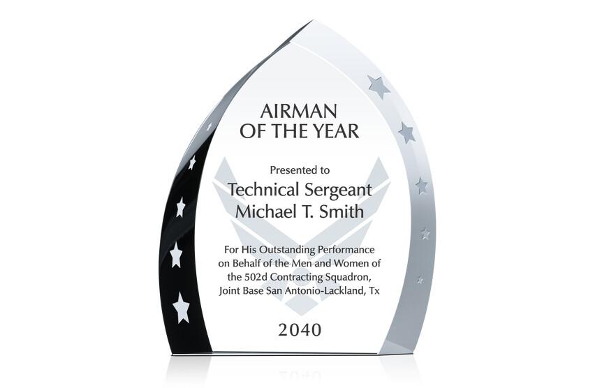 army award verbiage