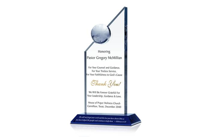 Personalized Crystal Awards, Gifts and Plaques