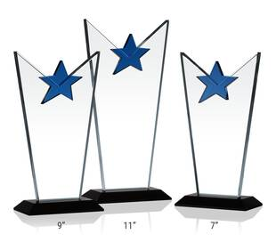 Victory Star Award Plaques