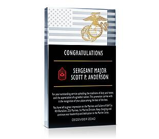 Military Promotion Gifts