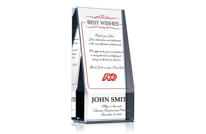 Best Wishes on Promotion Award