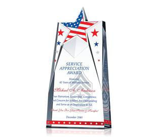 Star Military Appreciation Gifts