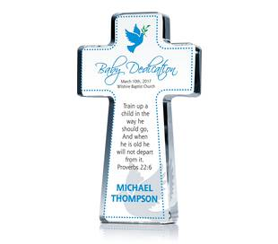 Cross Dedication Gift