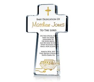 Cross Keepsake for Dedication