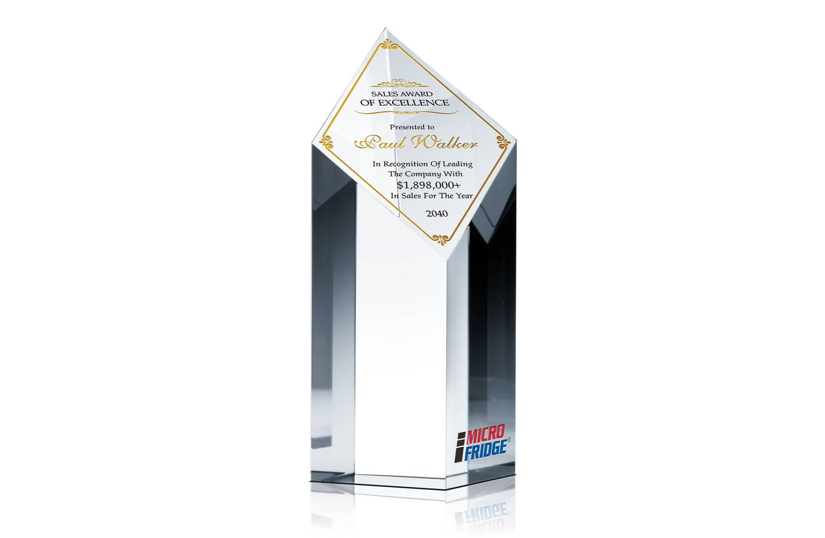 Diamond Sales Excellence Award