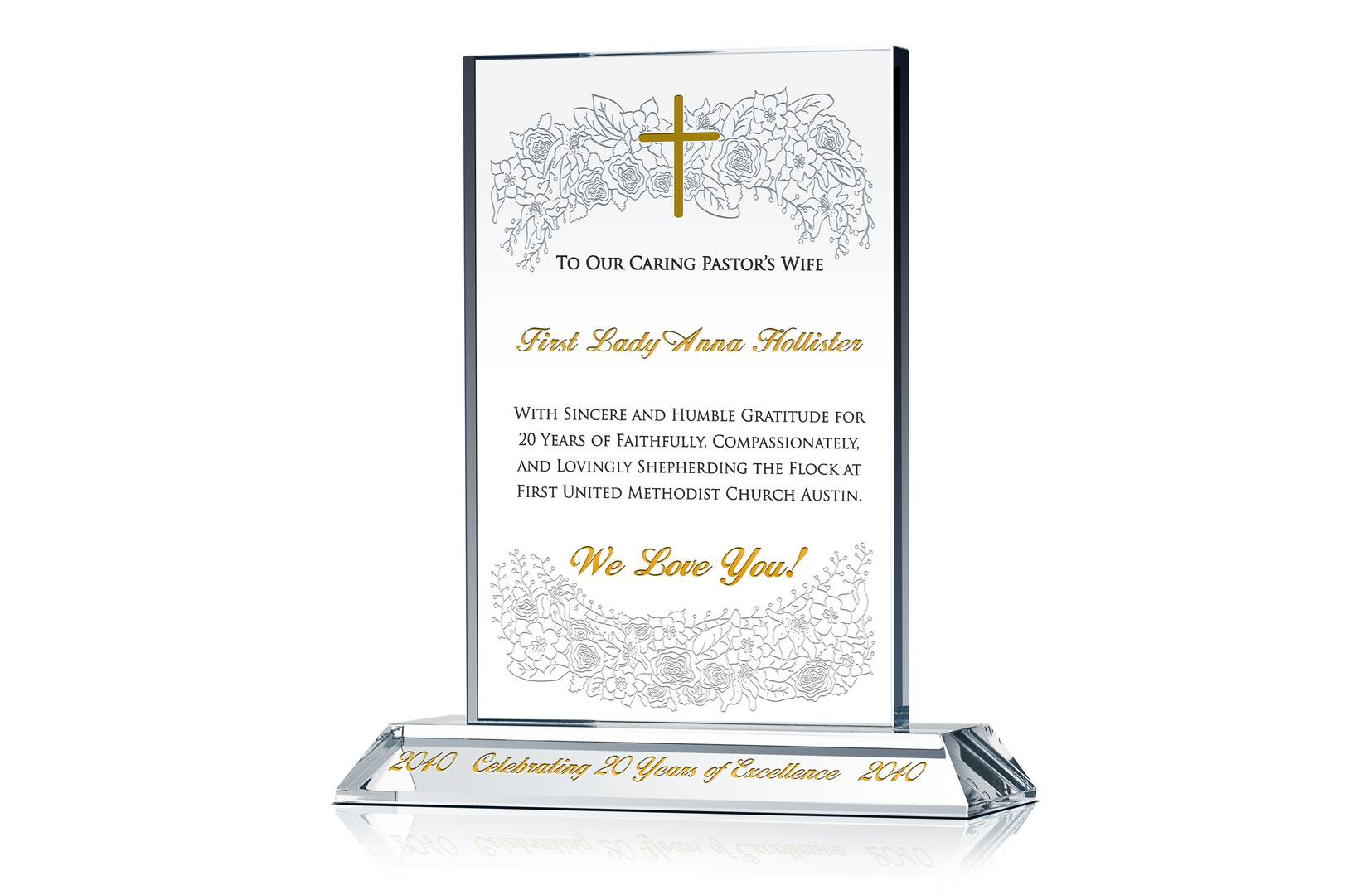 Pastor Wife Christmas Gift Plaque Amp Wording Ideas