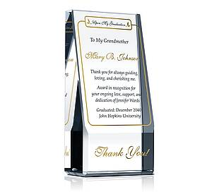 Graduation Appreciation Plaque