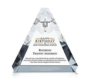 Pastor Happy Birthday Gift Plaque