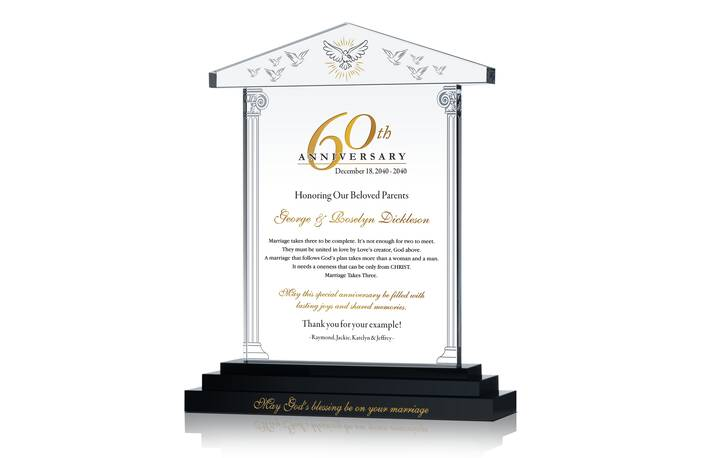 60th Anniversary Gifts for Parents