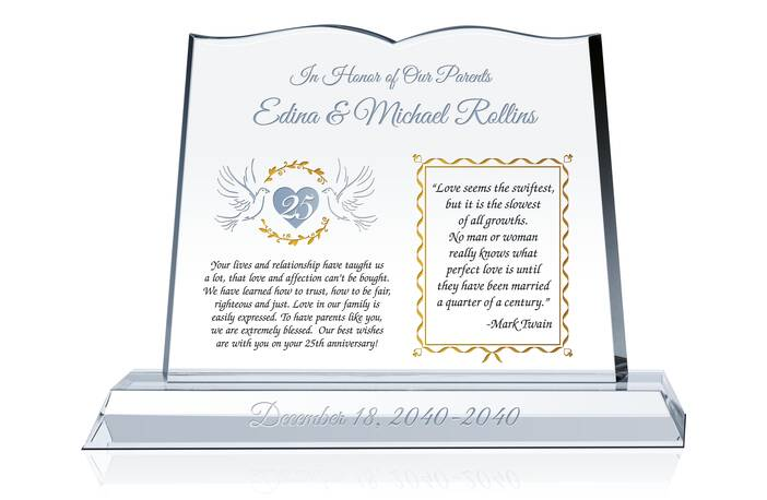 Sample Silver Anniversary Quotes to Parents