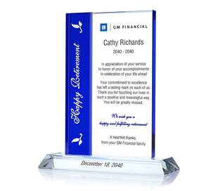 Happy Retirement Gift Plaques