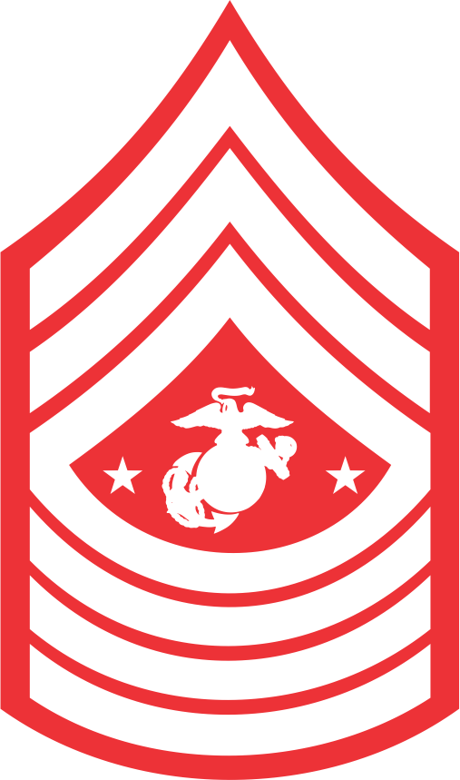 USMC Enlisted Ranks for Crystal Etching & Colorfill ...