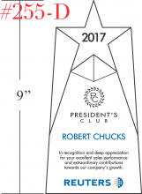 Sample President's Club Winner Awards